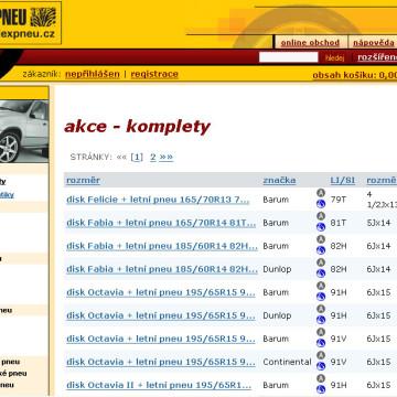 Alexpneu.cz - eshop 02