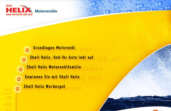 Shell Deutschland - multimediální CD prezentace 1