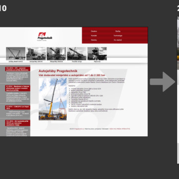 Pragotechnik - prezentace během let