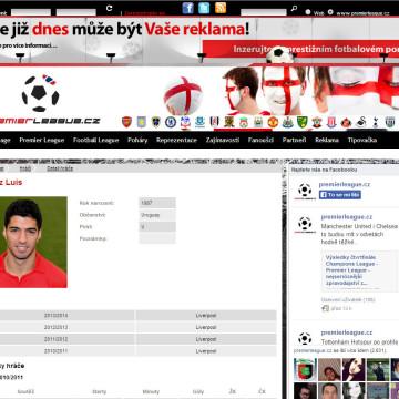 Internetový portál Premier League.cz 03