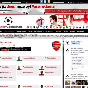 Internetový portál Premier League.cz 04