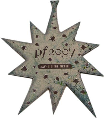 Digital Media vánoční CD hvězda 01