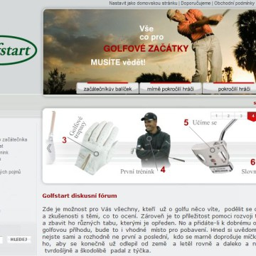 e-shop Golf-Start.cz 3