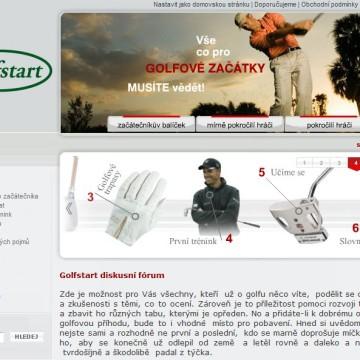 e-shop Golf-Start.cz 3
