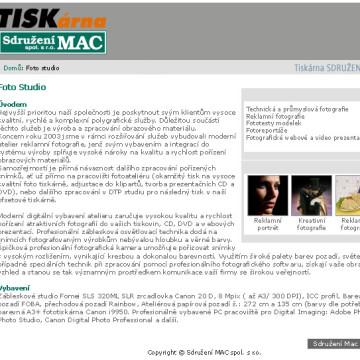 Sdružení MAC - webdesign 5