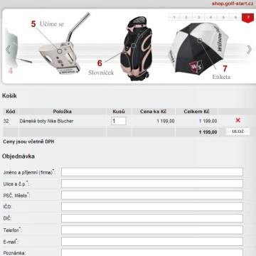 e-shop Golf-Start.cz 6