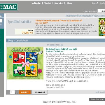 Sdružení MAC - webdesign 3