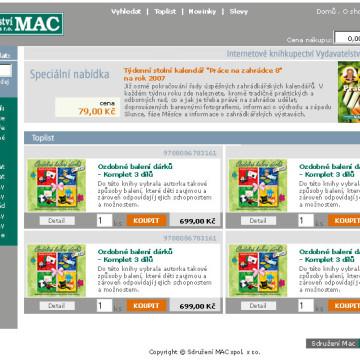 Sdružení MAC - webdesign 2