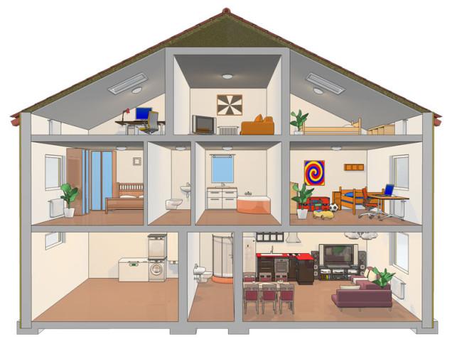 Virtuální 3D dům