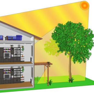 3d vizualizace principů úspor energie dum-slunce-3d-sketch