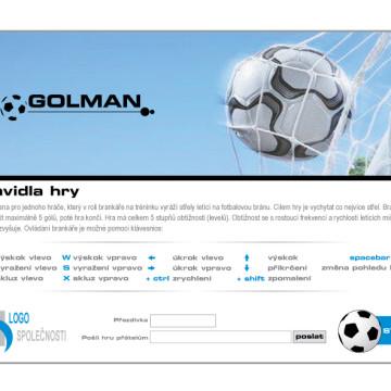 3D Fotbal goal_1