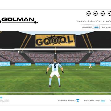 3D Fotbal goal_2