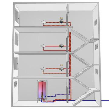 3d vizualizace principů úspor energie rozvody-infografika-3d-sketch