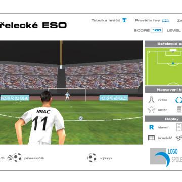 3D Fotbal shoot_2