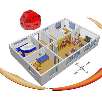 3d vizualizace principů úspor energie solary-infografika-3d-sketch