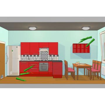 3d vizualizace principů úspor energie vetrani-3d-sketch