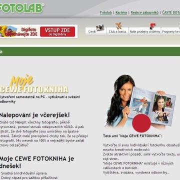 Fotolab.cz - Internetová prezentace 02
