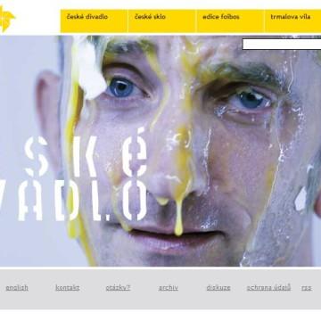 Internetové prezentace umělecké agentury Foibos 14