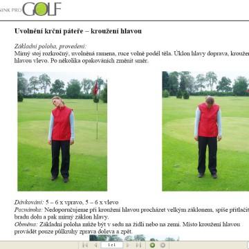 DVD-ROM Kondiční trénink pro golf 4