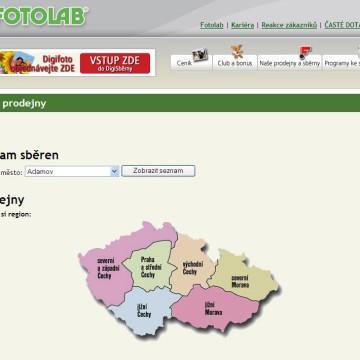 Fotolab.cz - Internetová prezentace 03