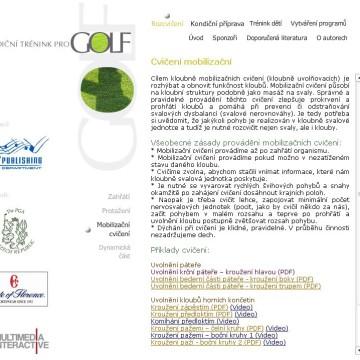DVD-ROM Kondiční trénink pro golf 5