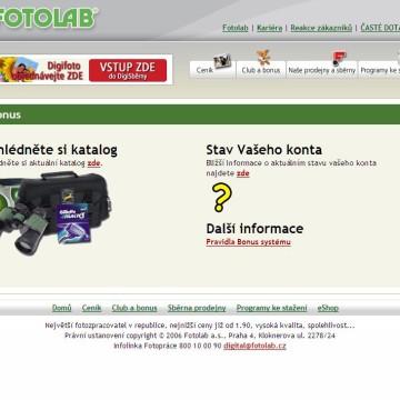 Fotolab.cz - Internetová prezentace 04