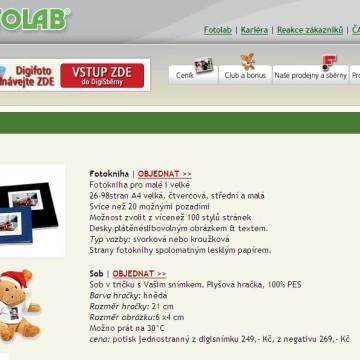 Fotolab.cz - Internetová prezentace 05