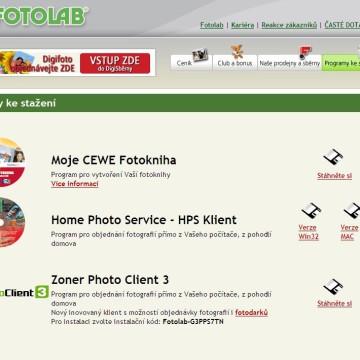 Fotolab.cz - Internetová prezentace 09
