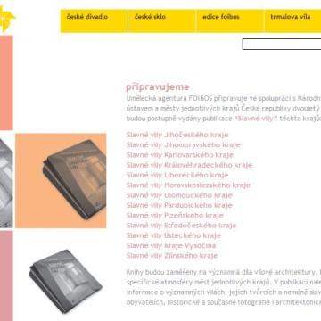 Internetové prezentace umělecké agentury Foibos 12