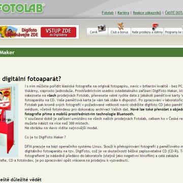Fotolab.cz - Internetová prezentace 11