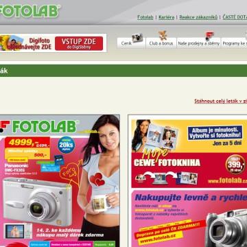 Fotolab.cz - Internetová prezentace 12