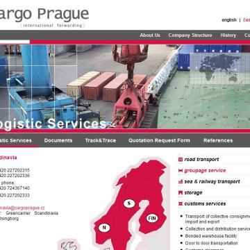 Cargo Prague webová prezentace 04
