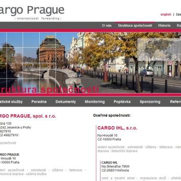 Cargo Prague webová prezentace 05