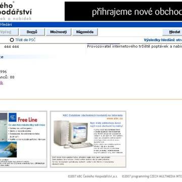 ABC Českého Hospodářství - CD katalog 6