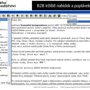 ABC Českého Hospodářství - CD katalog 7