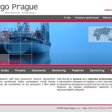 Cargo Prague webová prezentace 09