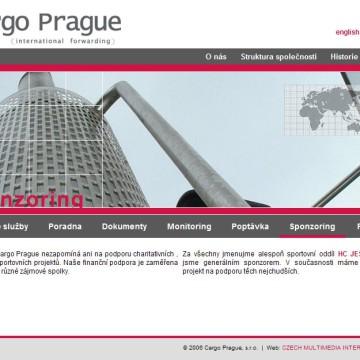 Cargo Prague webová prezentace 10