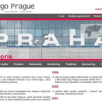 Cargo Prague webová prezentace 11