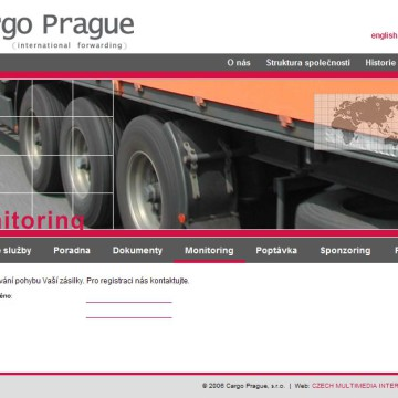 Cargo Prague webová prezentace 12