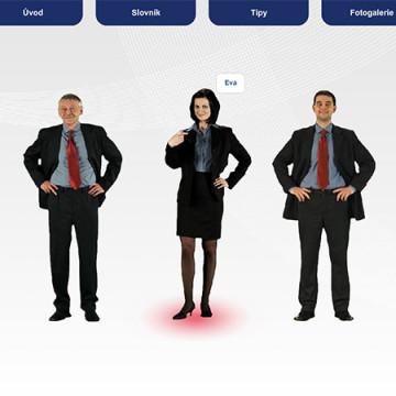 Multimediální prezentace pro dotykové zobrazovače PRE