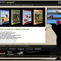 Golf DVD - go4golf! webová prezentace 01