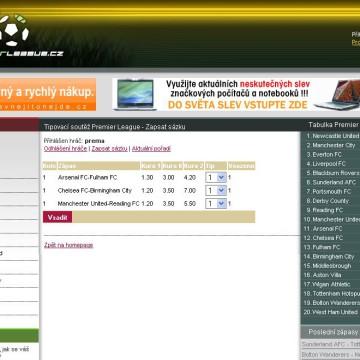 PremierLeague.cz 2007-2008