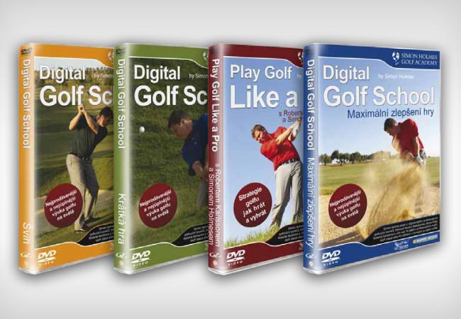 Digital Golf School - DVD maximální zlepšení hry 1