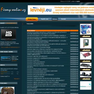 Internetový katalog Firmy-online.cz 07