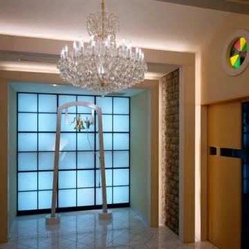 Preciosa Lustry - 3D vizualizace - entrance-chapel