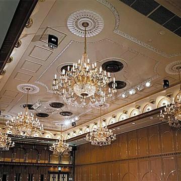 Preciosa Lustry - 3D vizualizace - grand-room