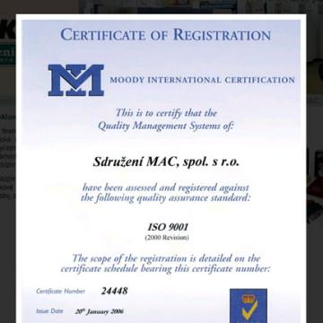 Sdružení MAC - webové prezentace 08