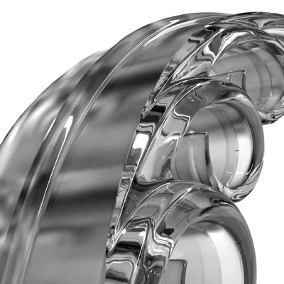 Preciosa Lustry CD-ROM prezentace GLASS FOUNTAIN 1