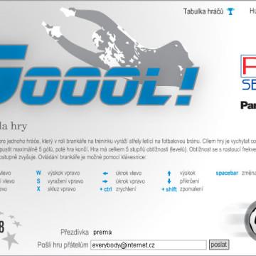 Online soutěž společnosti PM servis, Panasonic 03