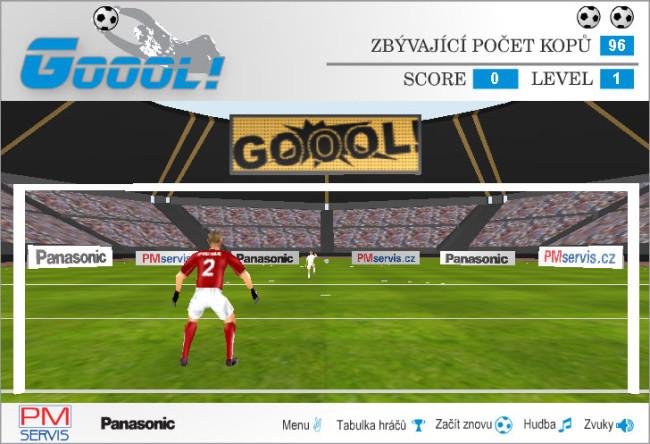 Online soutěž společnosti PM servis, Panasonic 01